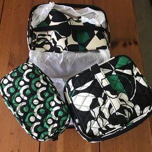 Vera Bradley travel set 3pc NWT